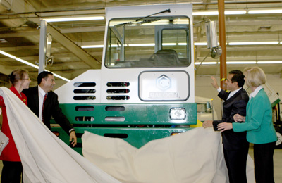 Unveiling of Electric Truck