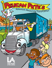 Pelican Pete TransPORTer Coloring Book