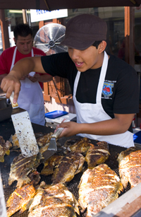 Port of los angeles a cleaner port a brighter future for Port o call san pedro fish market