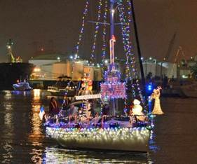 Holiday Harbor Afloat Parade