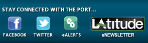 Stay Connected with the Port on Facebook Twitter and eAlerts