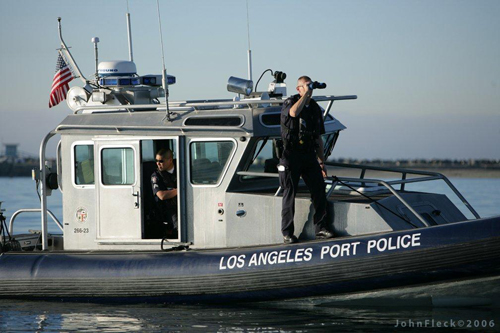 the port of los angeles security