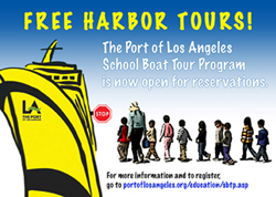 School Boat Tour Reservation Site