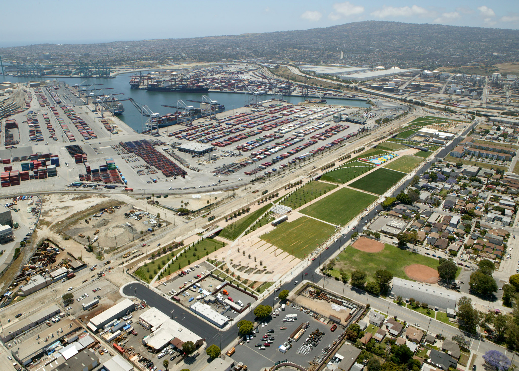 The Port of Los Angeles  Recreation
