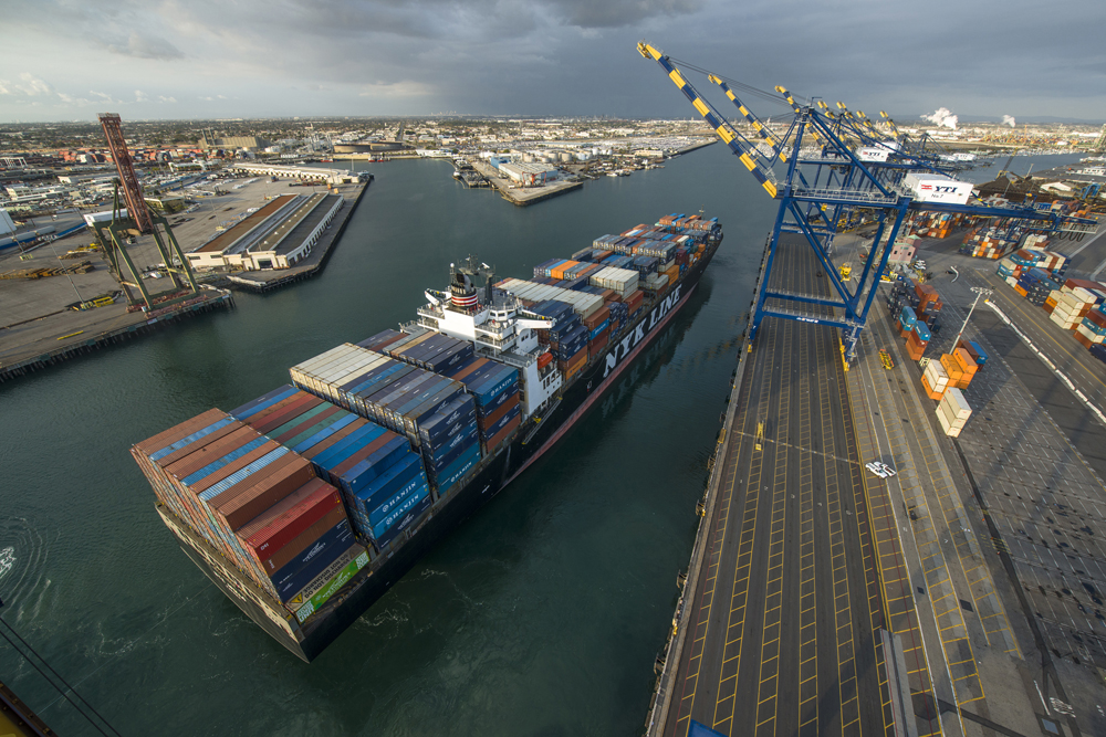 Port Of Los Angeles A Cleaner Port A Brighter Future