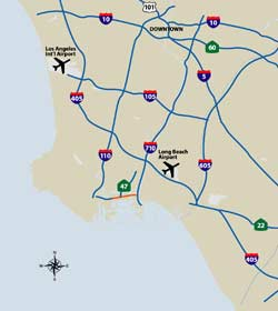 The Port Of Los Angeles Transportation - Airports in california